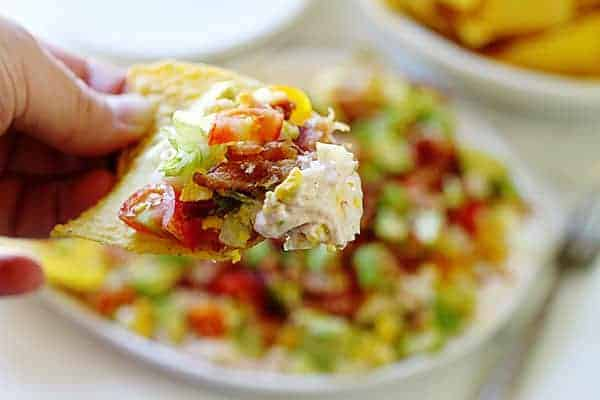 Southwest Cobb Salad Dip!