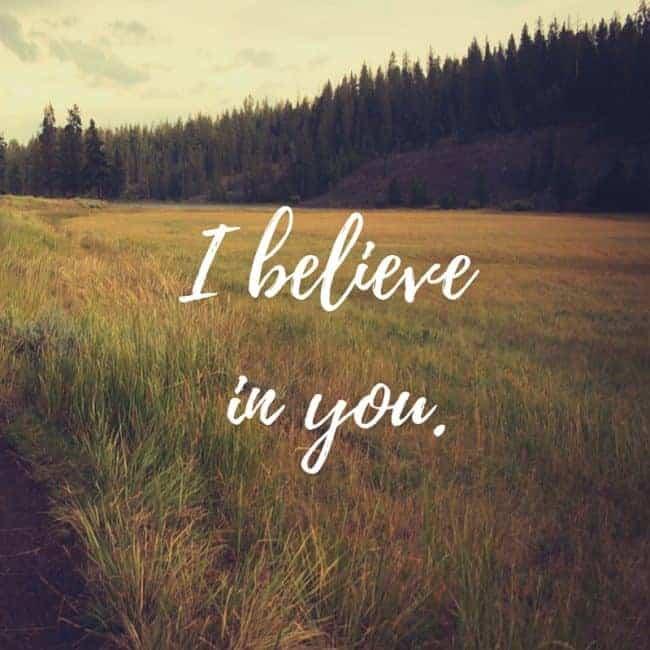 I believe inyou.