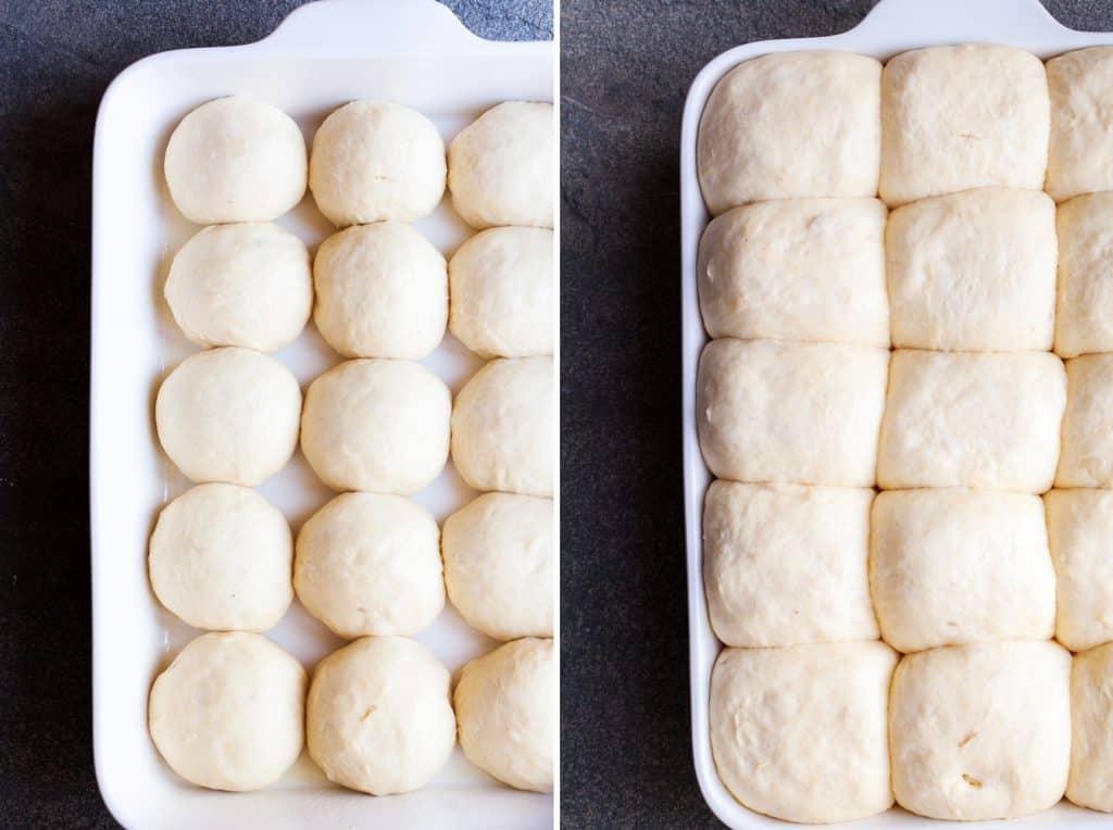 raising dinner rolls