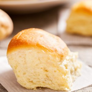 Amish Potato Dinner Rolls