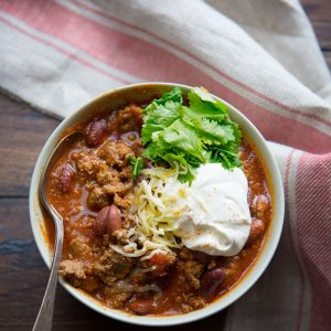 The BEST Chili Recipe! Grandma knew how to make everything taste better!