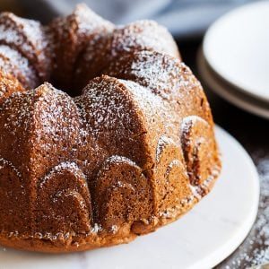 This is the REAL DEAL pumpkin cake!