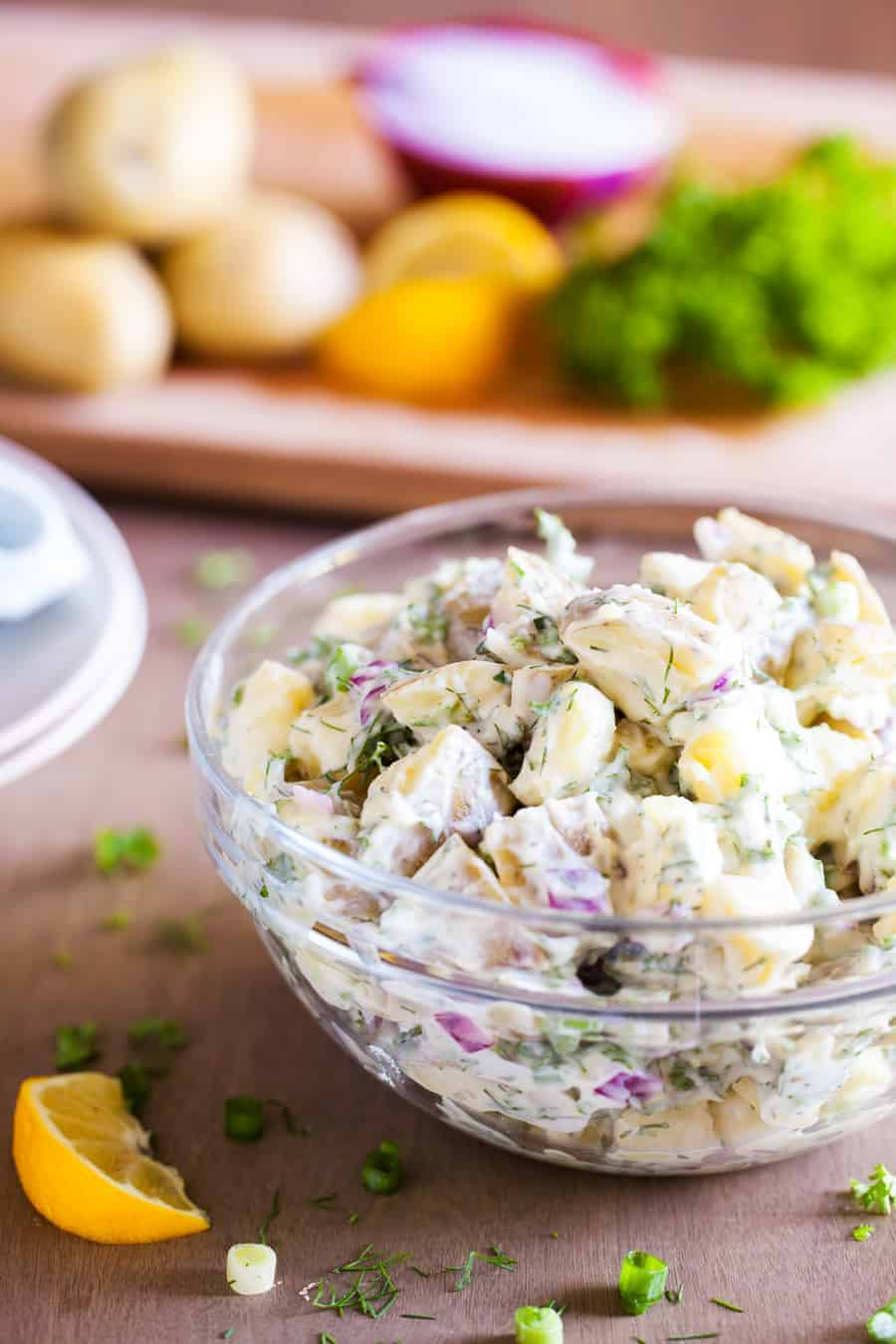 Classic Country Potato Salad - I Am Homesteader