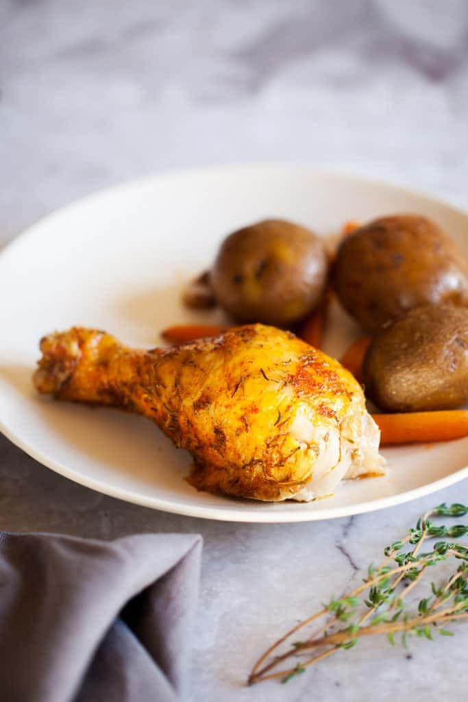 Rotisserie Chicken and Potatoes