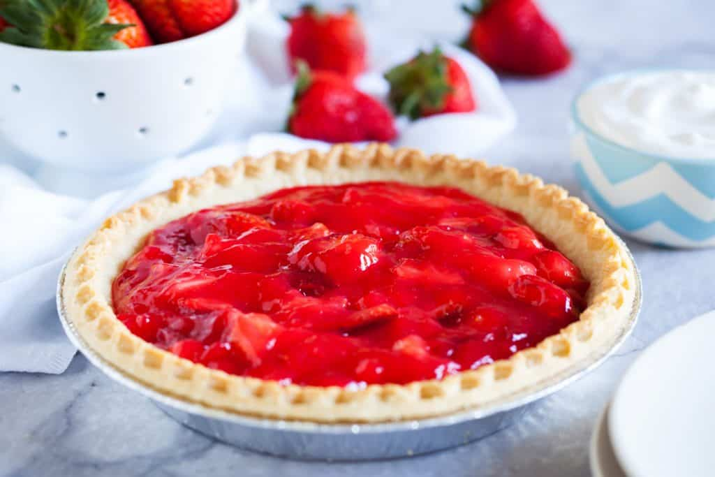 Fresh Amish Strawberry Pie