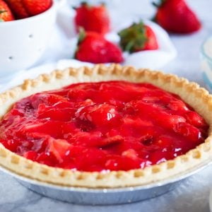 Amish Strawberry Pie
