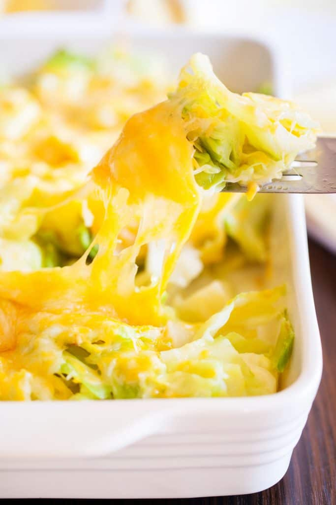 Baked Cabbage is the perfect side dish!