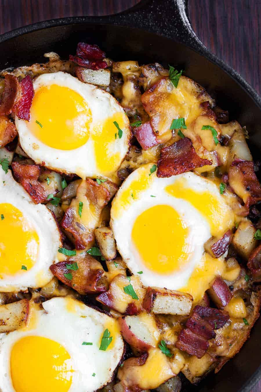 Country Breakfast Skillet I Am Homesteader