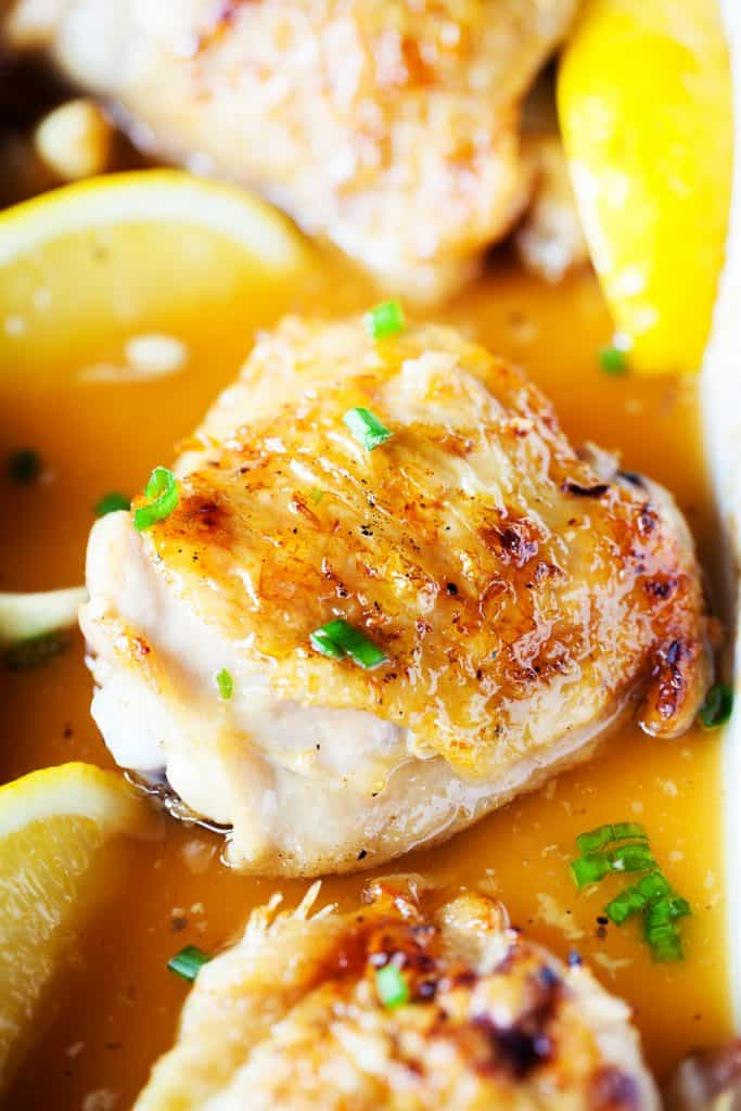 Honey Lemon Garlic Chicken