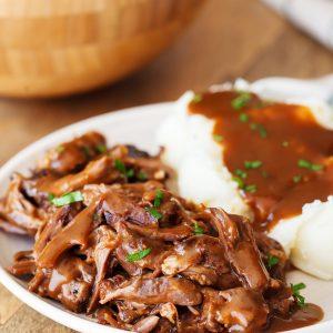 Beef Short Ribs & Gravy