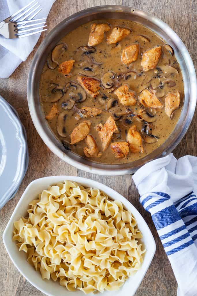 Chicken Stroganoff Recipe