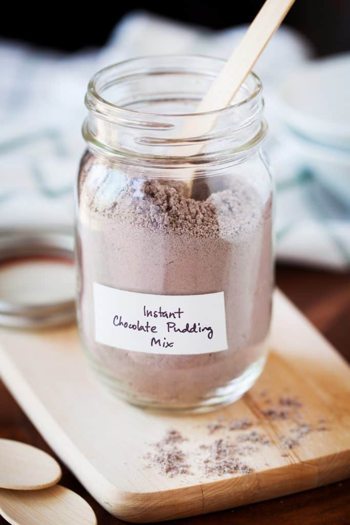 Instant Chocolate Pudding Recipe Mix