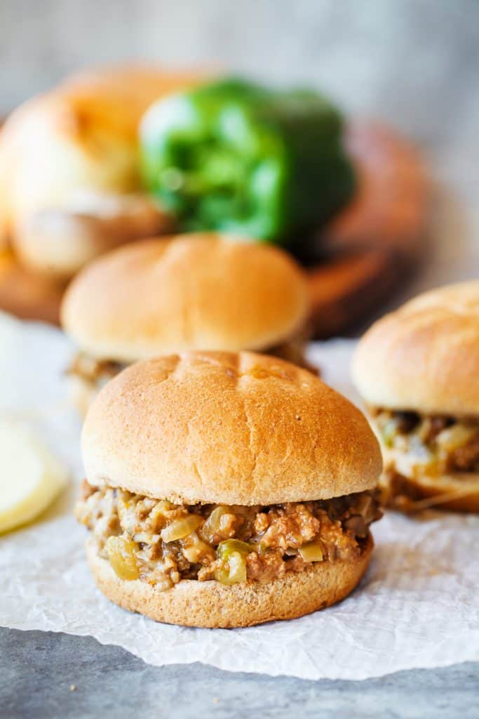 The perfect Philly Cheese Steak Sloppy Joes