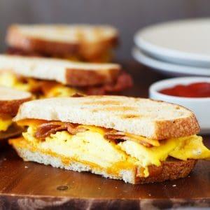 Griddle Breakfast Sandwich