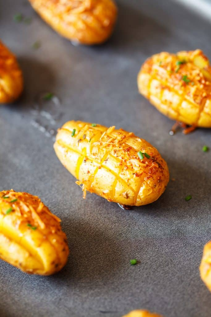 Cheesy Roasted Potatoes
