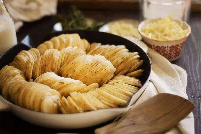 Cheesy Gruyere Scalloped Potatoes