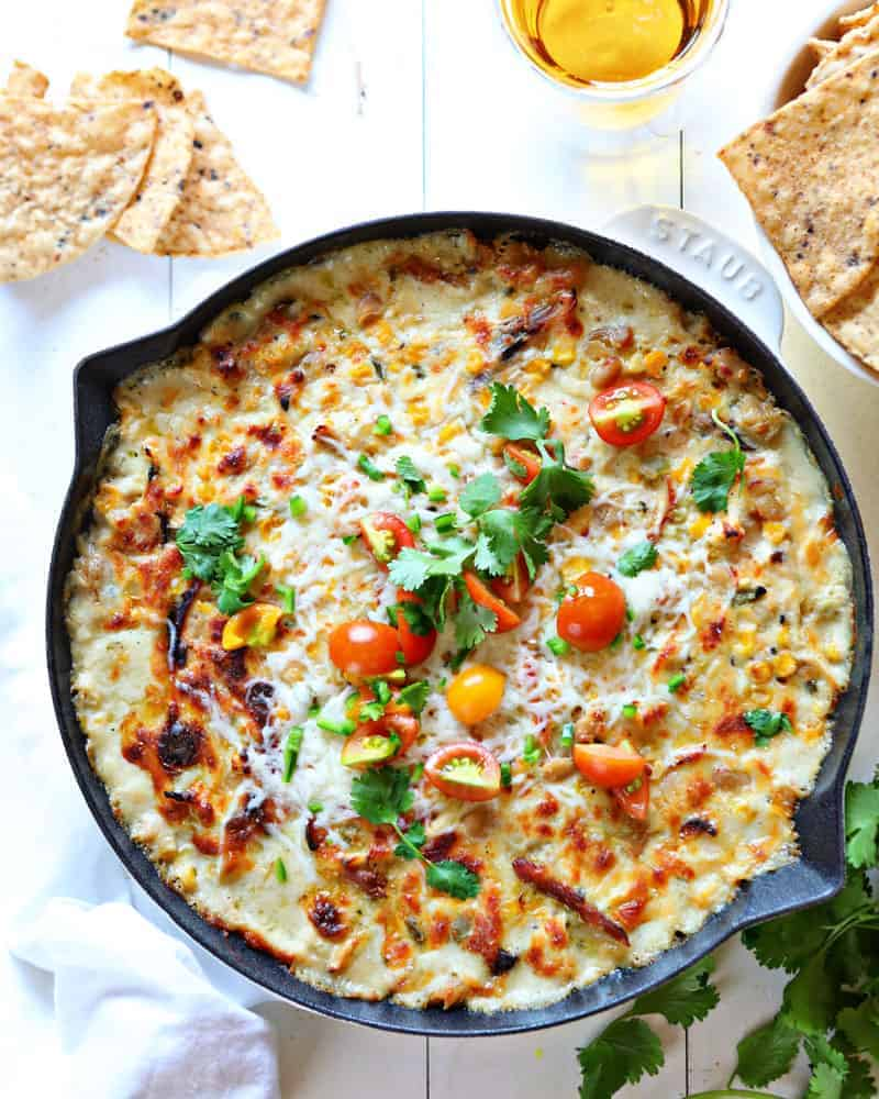 White Bean Chili Cheese Dip