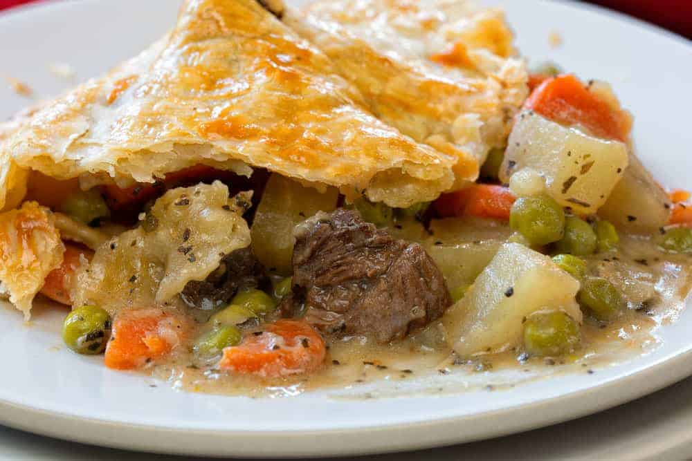 Beef Pot Pie from Iamhomesteader