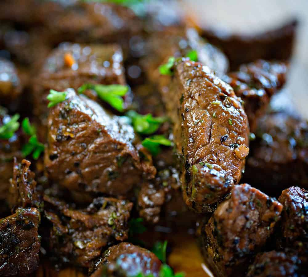 The most tender and juicy steak bites of all time!
