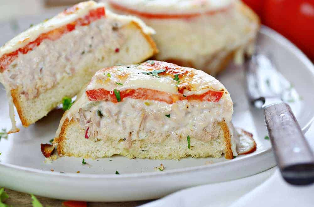 Delicious Tuna Melt Sandwich