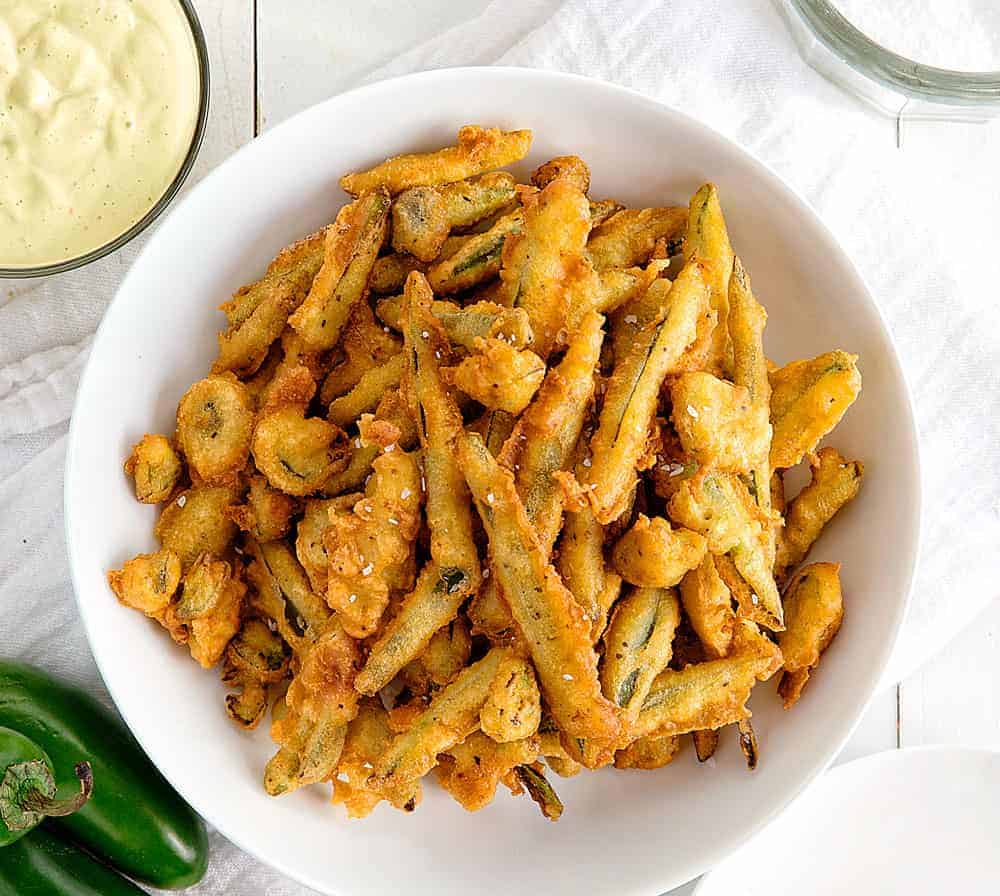 Crispy Fried Jalapenos