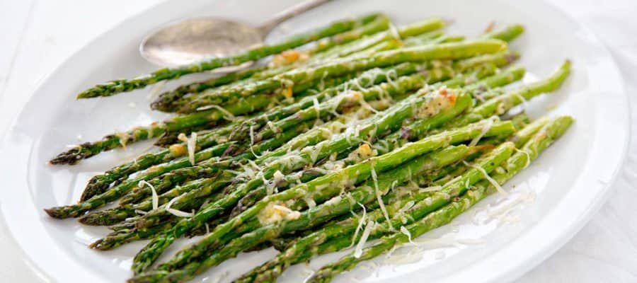 Garlic and Parmesan Roasted Asparagus