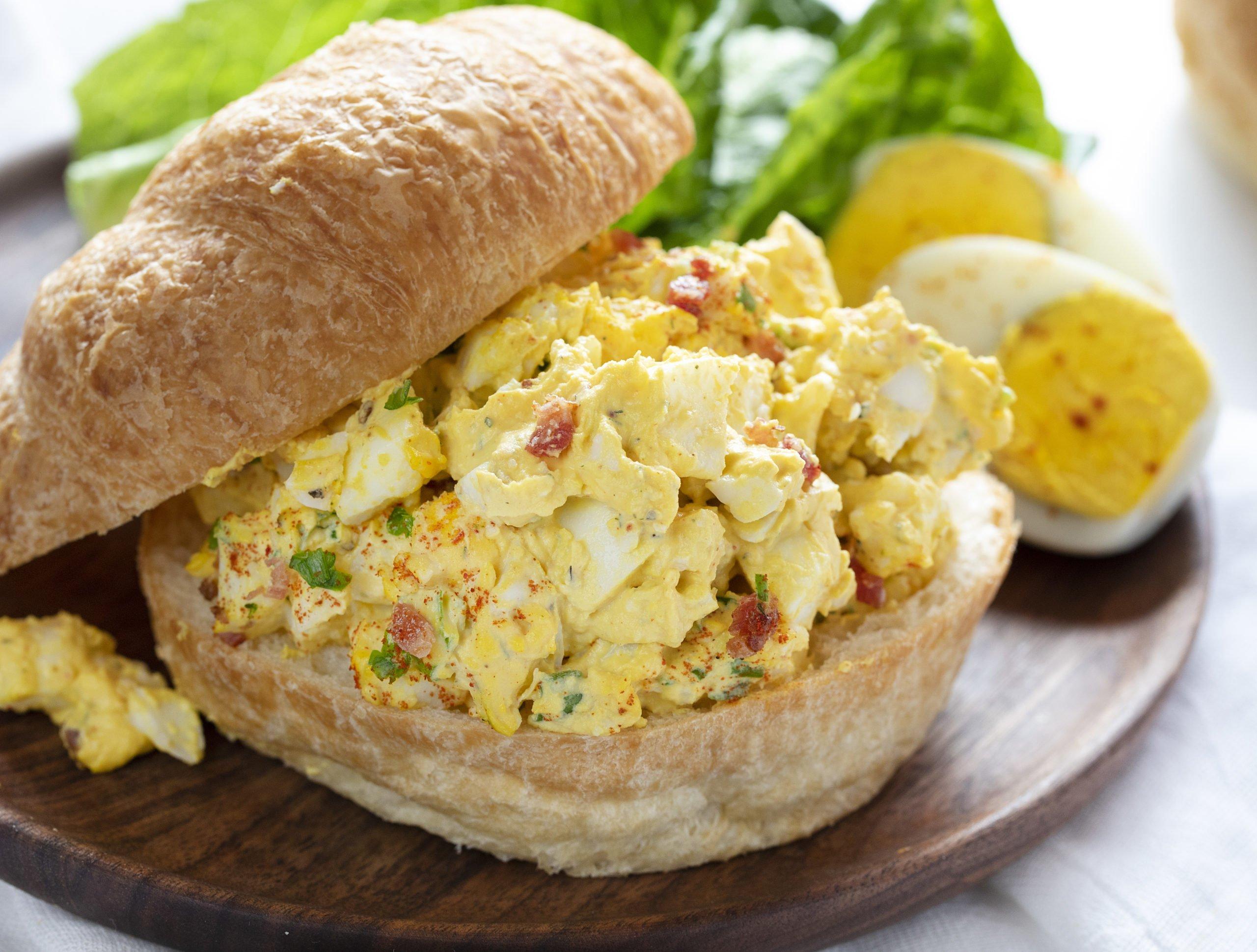 Deluxe Egg Salad Sandwich I Am Homesteader