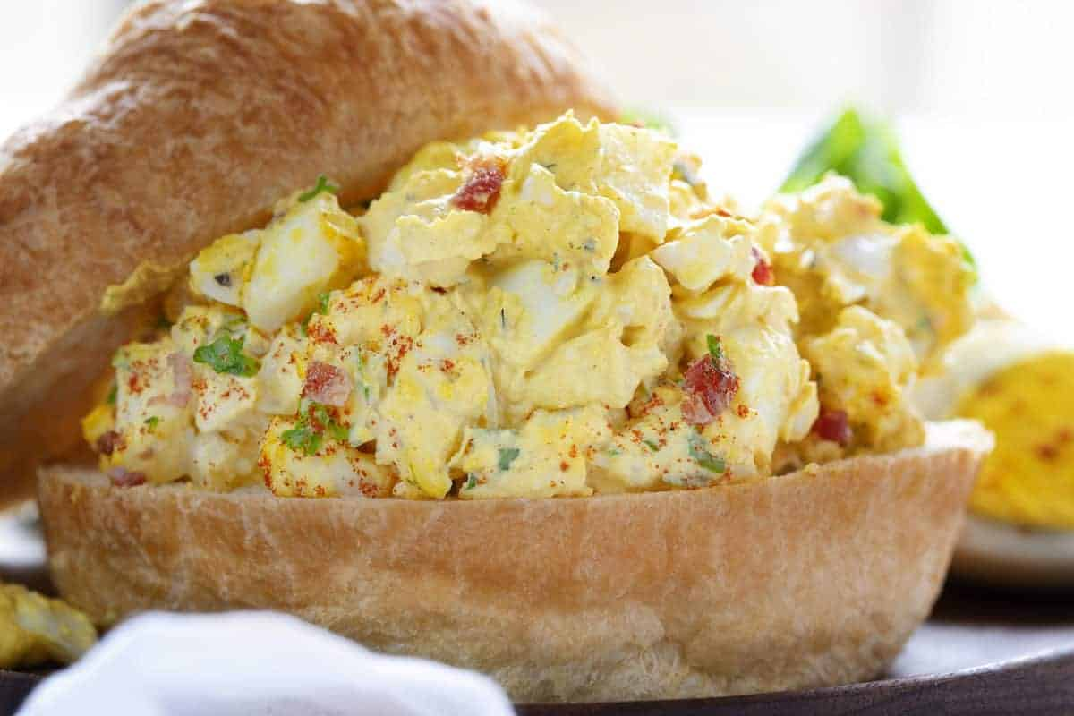 Deluxe Egg Salad Sandwich Recipe