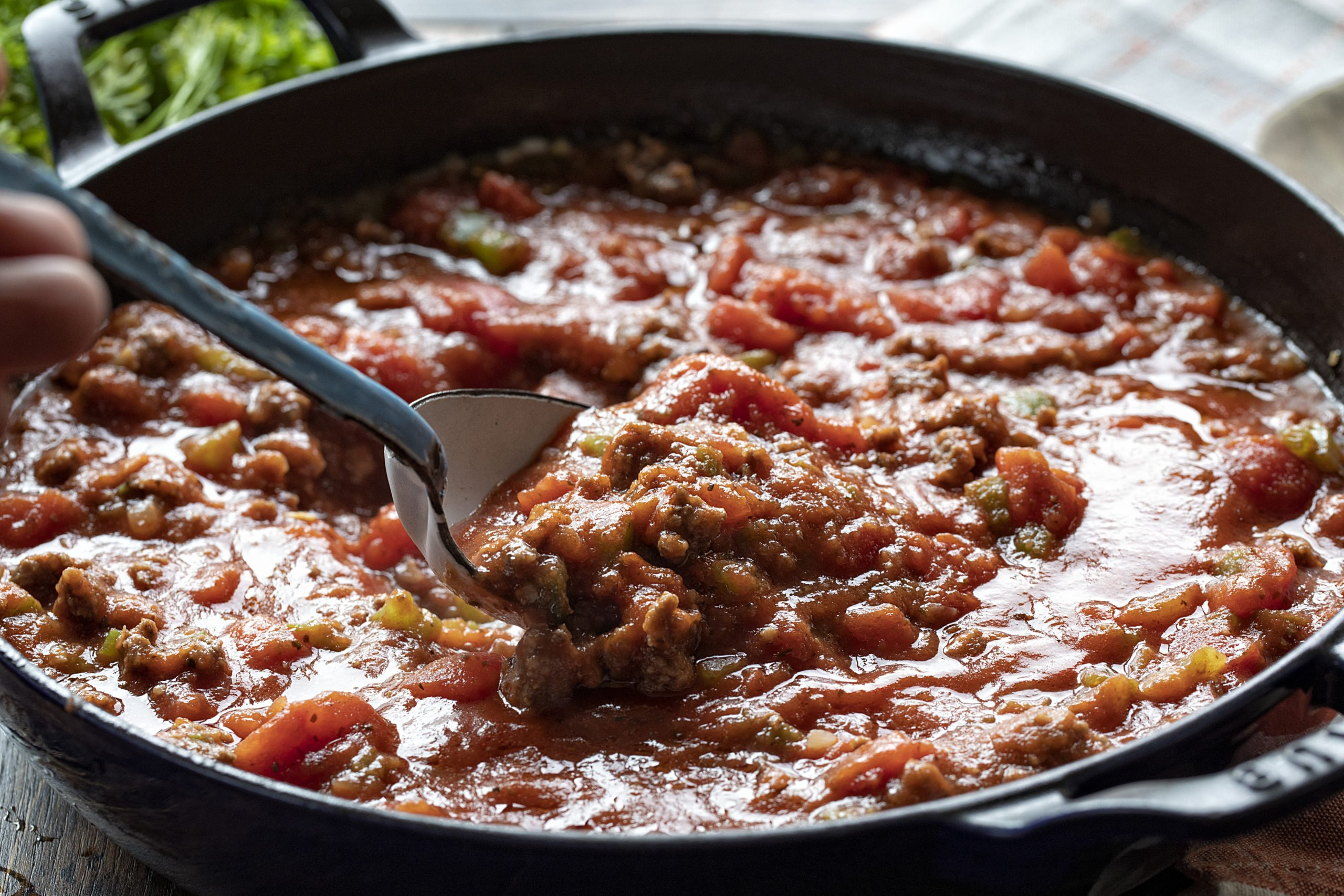 Easy Meat Sauce Spaghetti