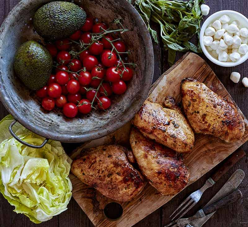Chicken Caprese Salad Ingredients