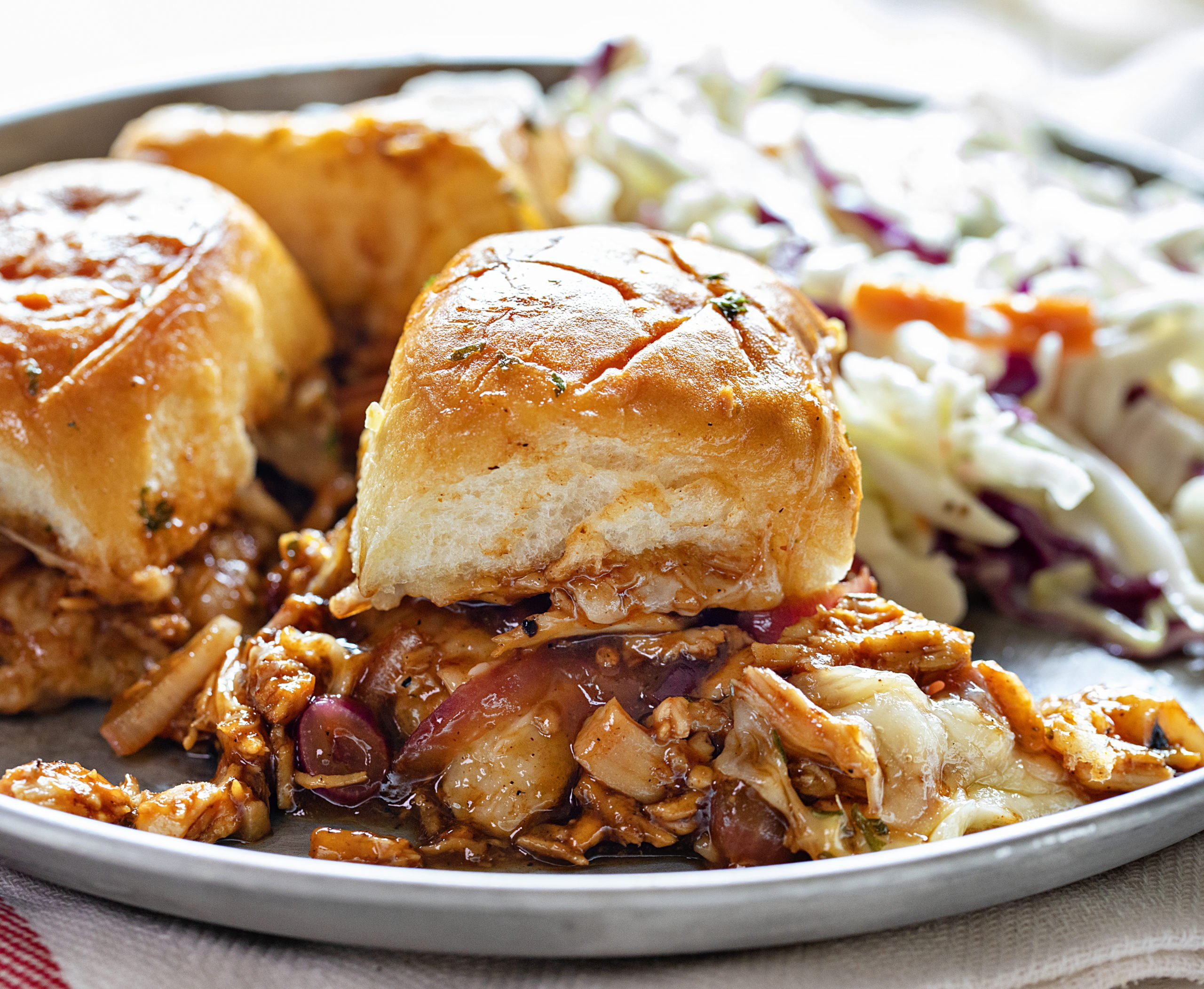 How to Make BBQ Chicken Sliders