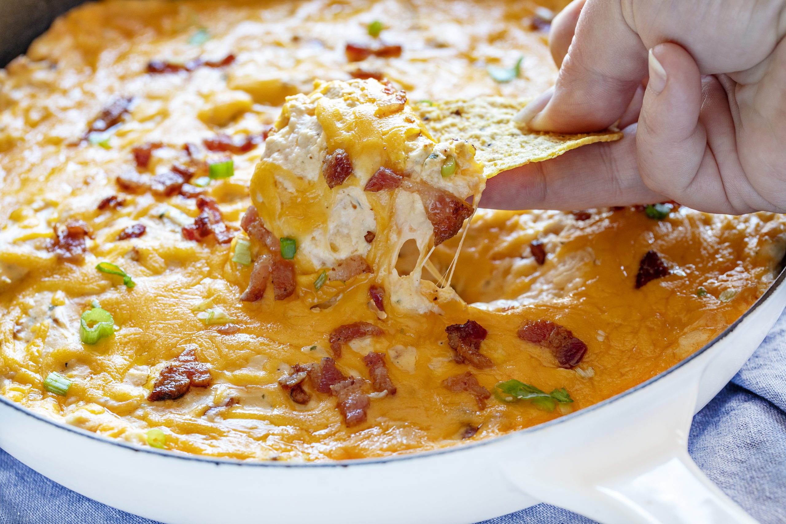 Easy Cheesy Chicken Dip