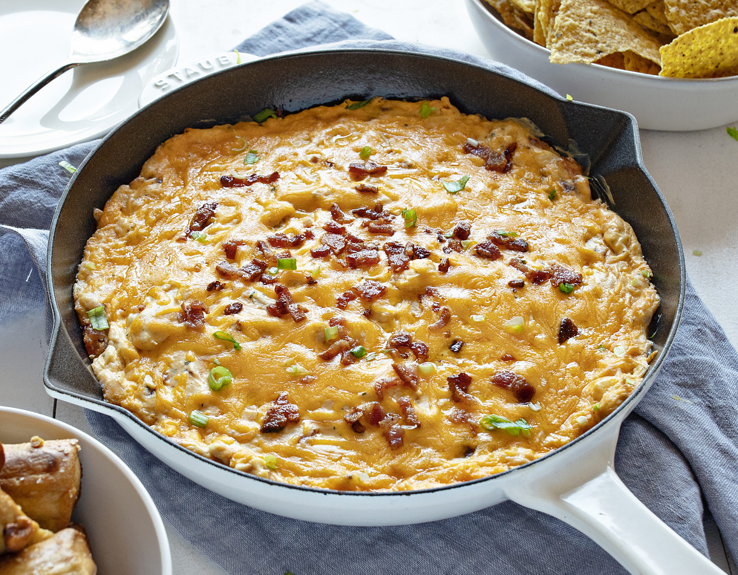 Cheesy Bacon Chicken Dip