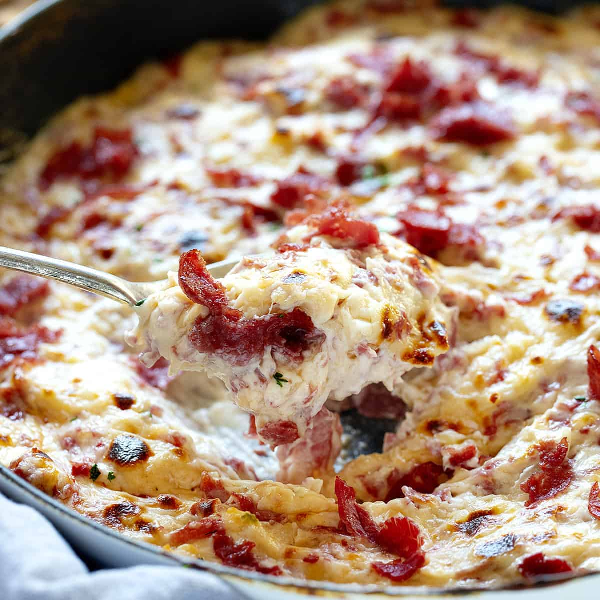 Spoonful of Reuben Dip