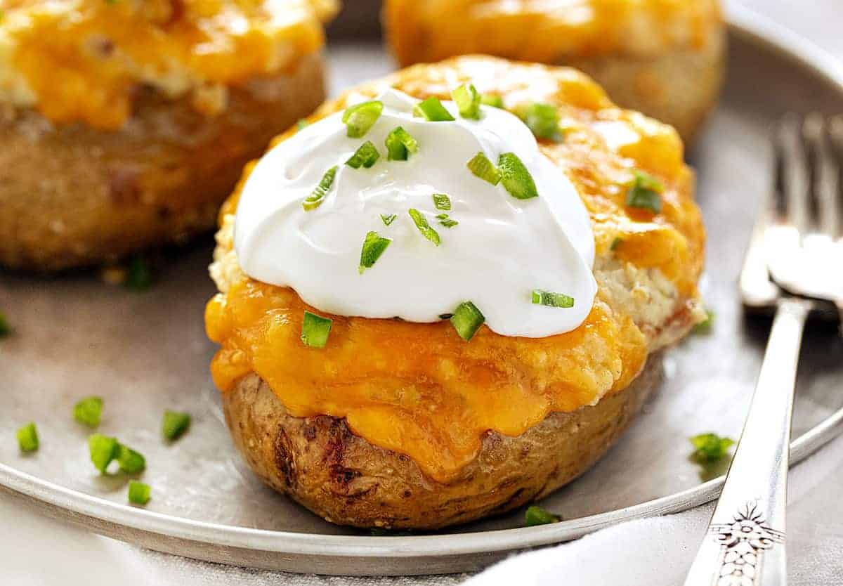 Twice Baked Potatoes Recipe