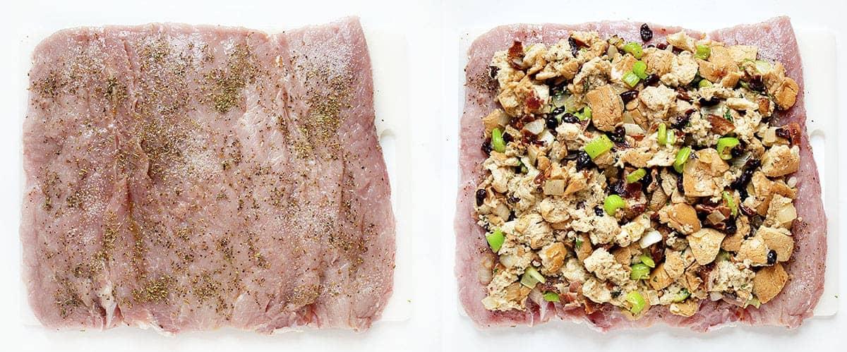 How to Stuff Pork Tenderloin