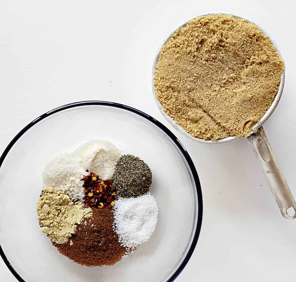 Ingredients for Pumpkin Spice Pork Tenderloin