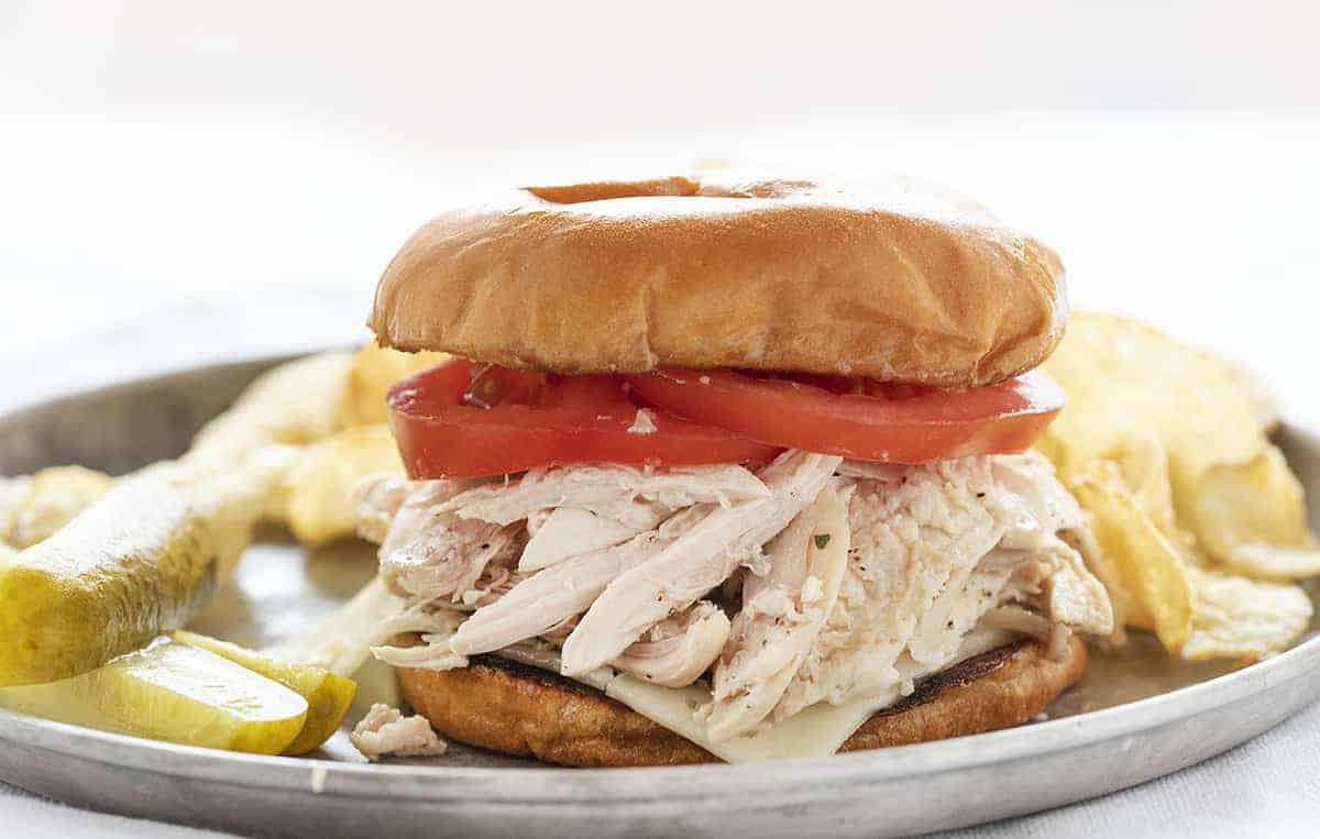 Rotisserie Chicken Sandwich