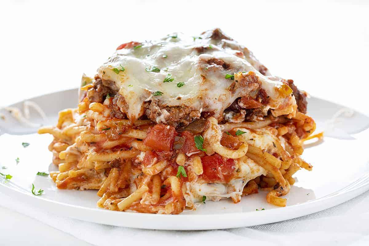 Plate of Millionaire Spaghetti