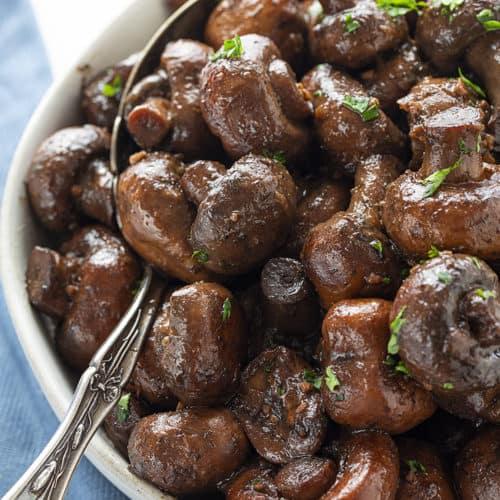 Burgundy Mushrooms I Am Homesteader