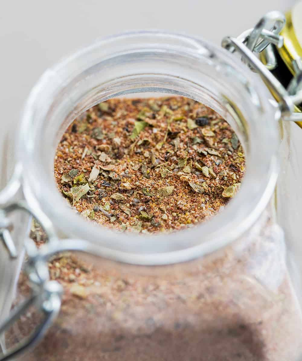 Homemade Blackened Seasoning Recipe in Jar