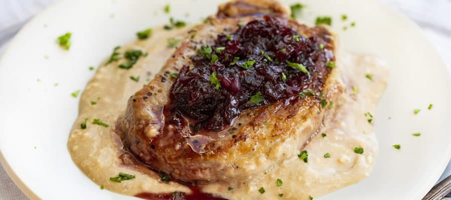 Cherry Pork Chops