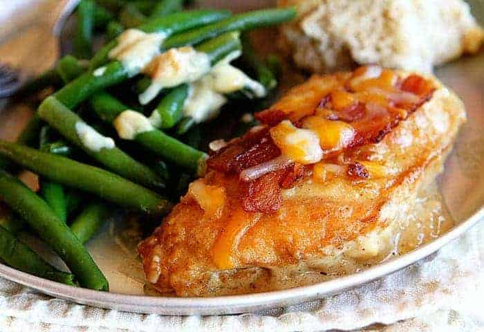 Cheesy Bacon Chicken