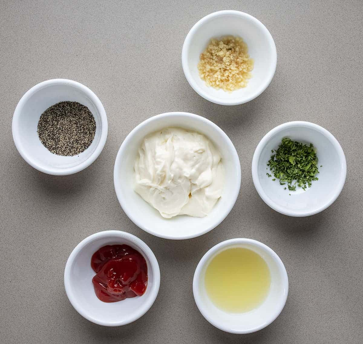 Raw Ingredients for Aioli