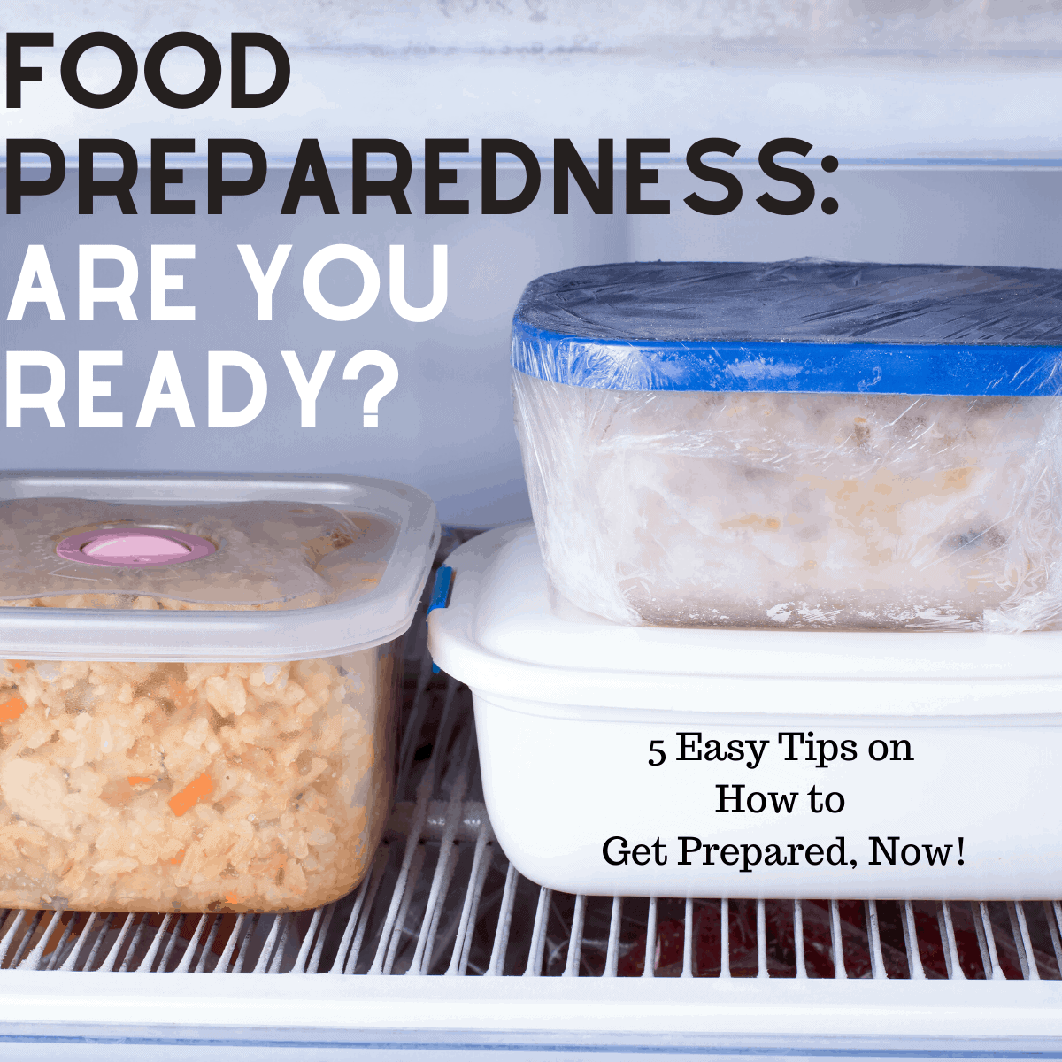 food preparedness