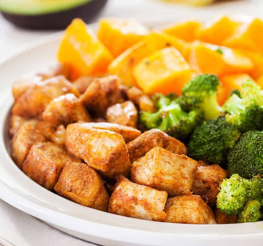 Spicy Chicken and Broccoli