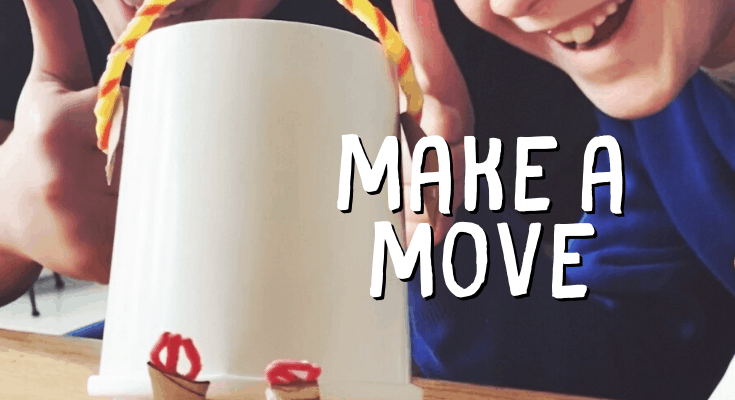 Daily Activity Challenge #7: Make A Move {with Wikki Stix}