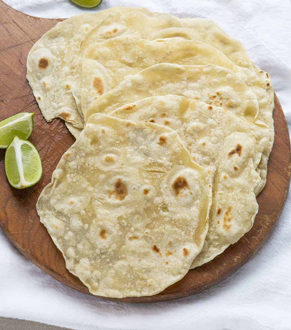 Homemade Flour Tortillas Video I Am Homesteader