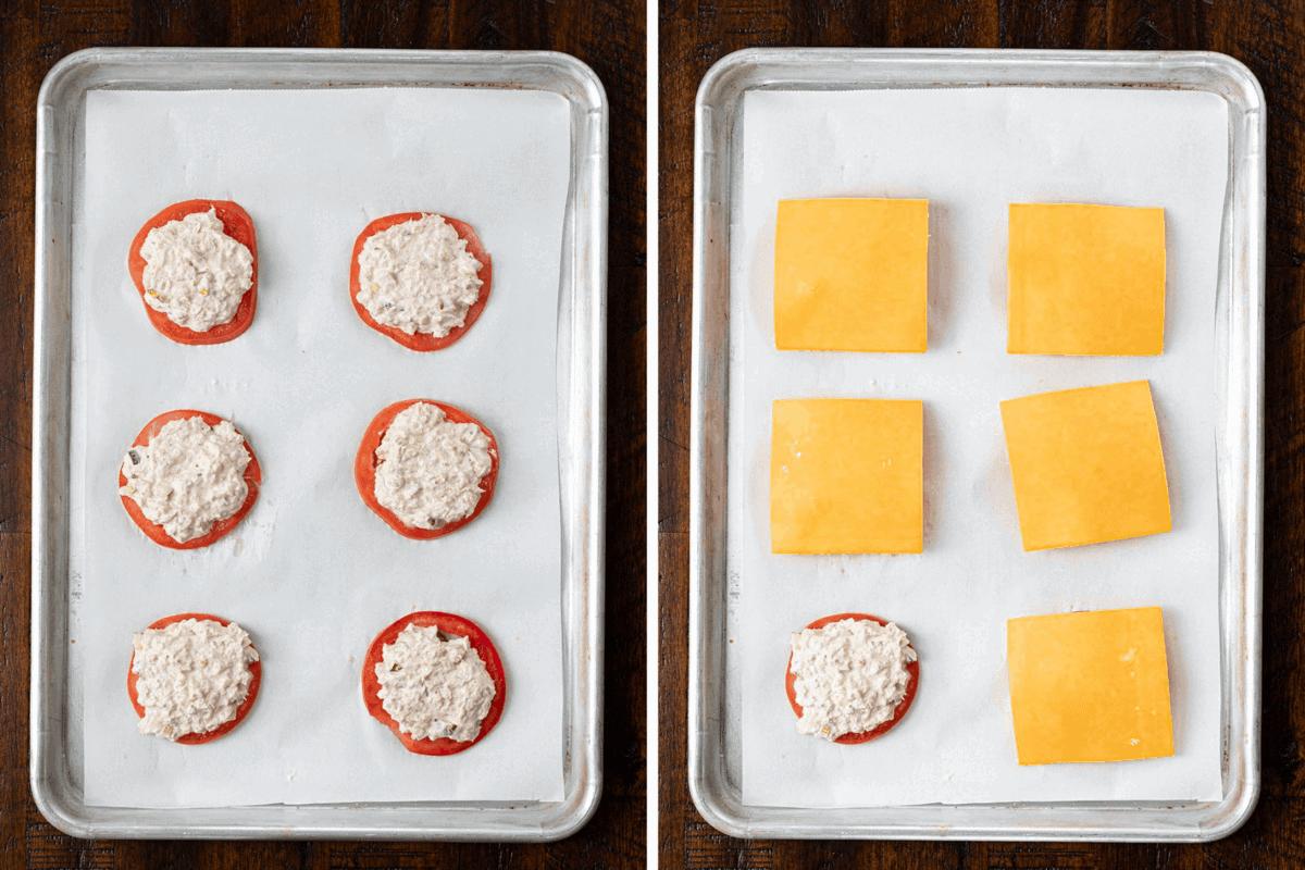 Process Steps for Tomato Tuna Snack
