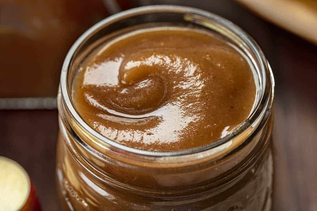 Apple Butter in a Jar